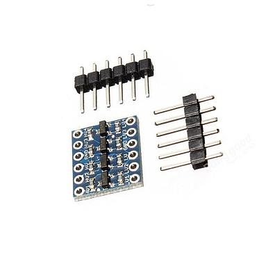 5V~3.3V 4 Channel IIC I2C Logic Level Converter Bi-Directional Module