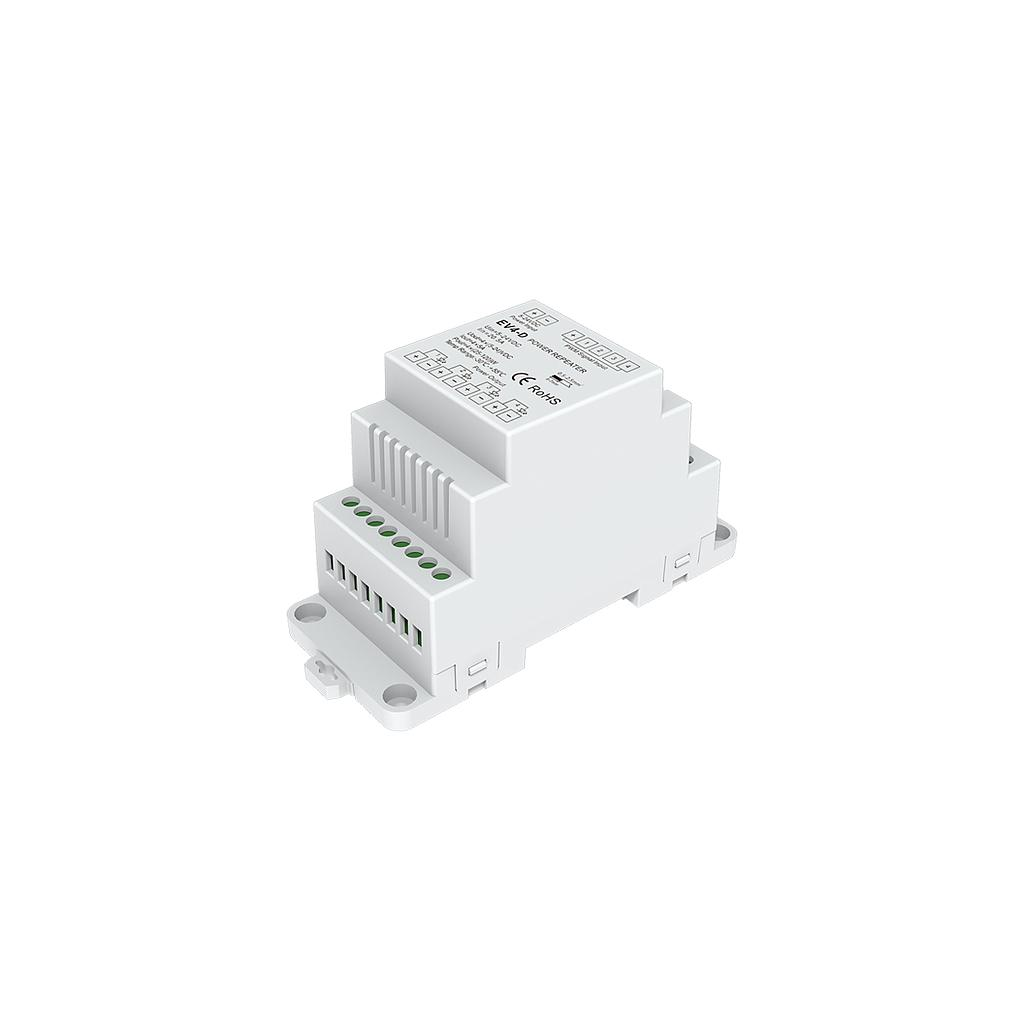 EV4-D DC5-24V 4 Channel PWM Constat Voltage RGB/RGBW/Color Temperature/Dimming Power Repeater