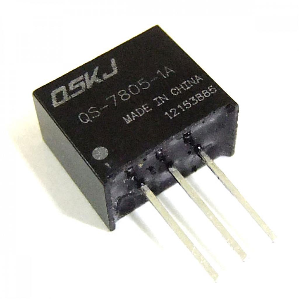 DC-DC Converter 13-24V to 12V 0.5A Non-isolated Step Down Module QS-7812-0.5A