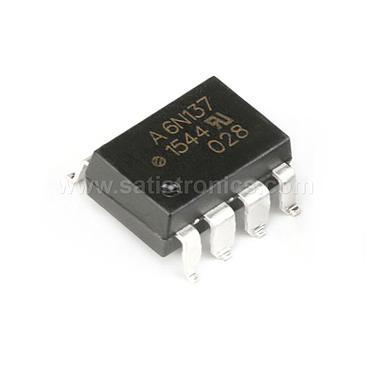 Broadcom 6N137-500E SMD-8 Optocouplers High Speed TTL CMR