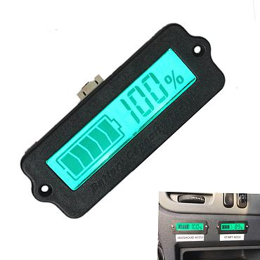 LY6W 12V Acid Lithium Battery Capacity Indicator Tester Meter