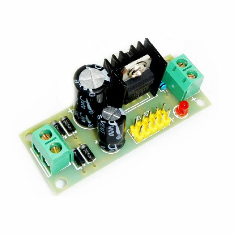 L7805 LM7805 Three Terminal Voltage Regulator Module 5V for Arduino