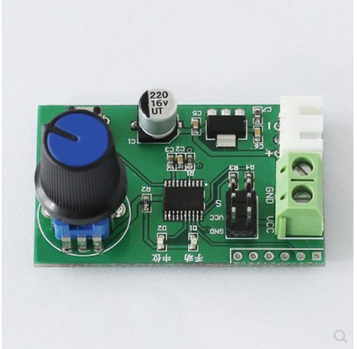 MG995 SG90 Dual Servos Knob Serial Port Control Board Steering Gear