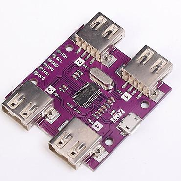 CJMCU-204 USB 2.0 HUB 4-Port Controller Module for Electronic Components