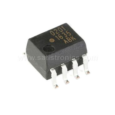 Broadcom HCPL-0201-500E SOIC-8 Optocouplers High CMR Wide Vcc