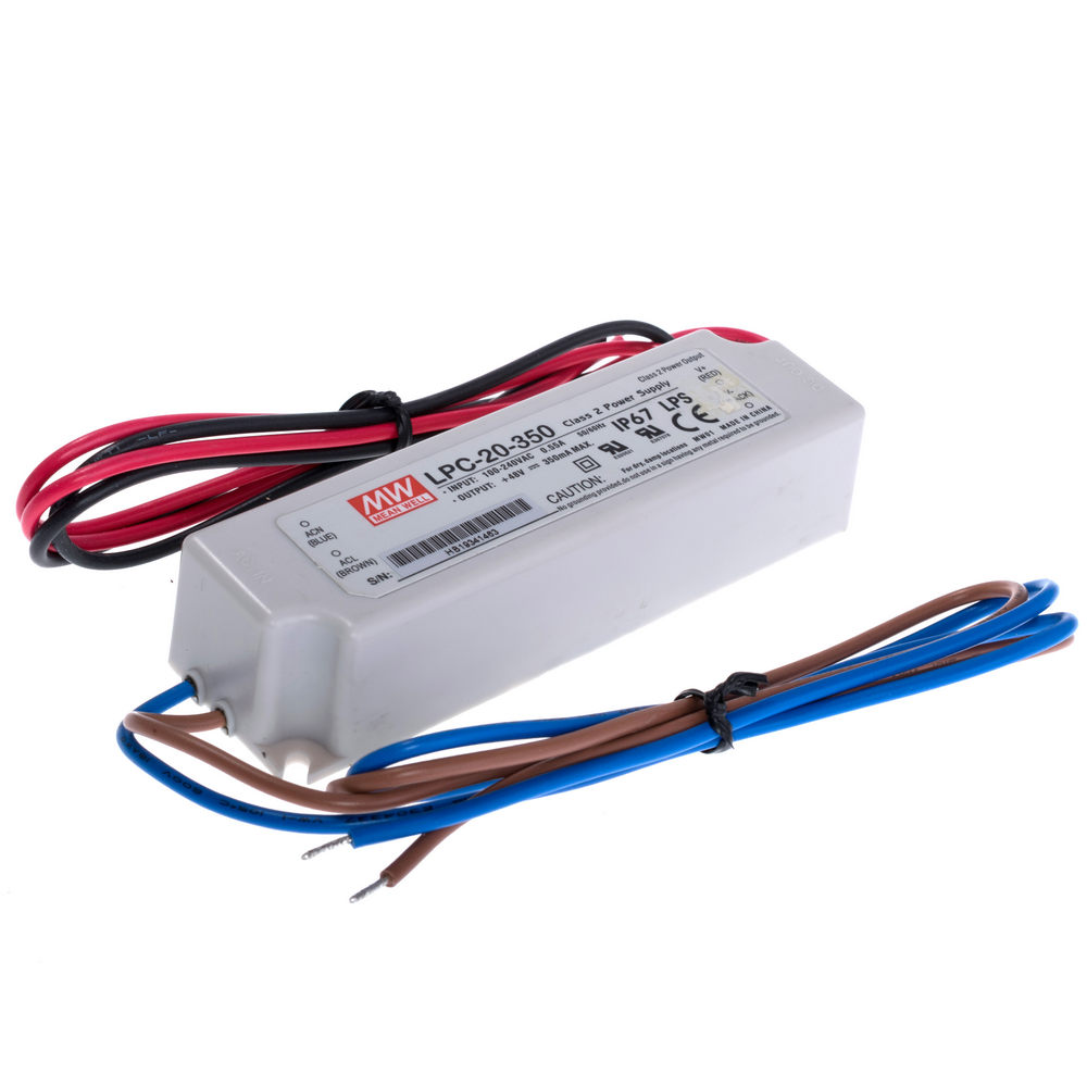 MeanWell LPC Series Constant Current Driver 18W-150W Waterproof Power Supply