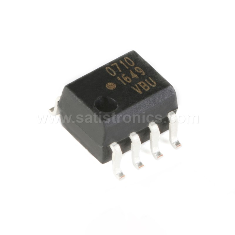 Broadcom HCPL-0710-500E SOIC-8 Optocouplers CMOS 40ns Propagation Delay