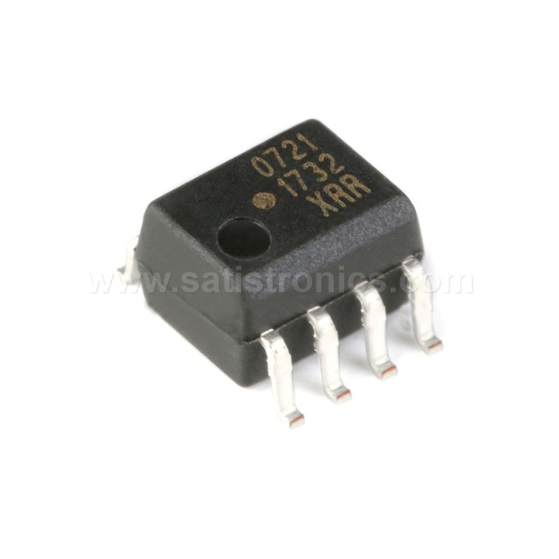Broadcom  HCPL-0721-500E SOIC-8 Optocouplers CMOS 40ns Propagation Delay
