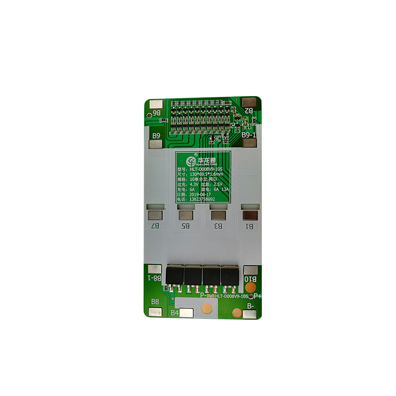 10S 36V Li-ion Lithium Battery BMS PCB PCM Power Protection Board For Electric Bicycle