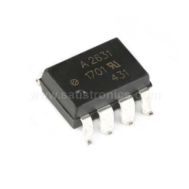 Broadcom HCPL-2631-500E SMD-8 Optocouplers High Speed TTL CMR