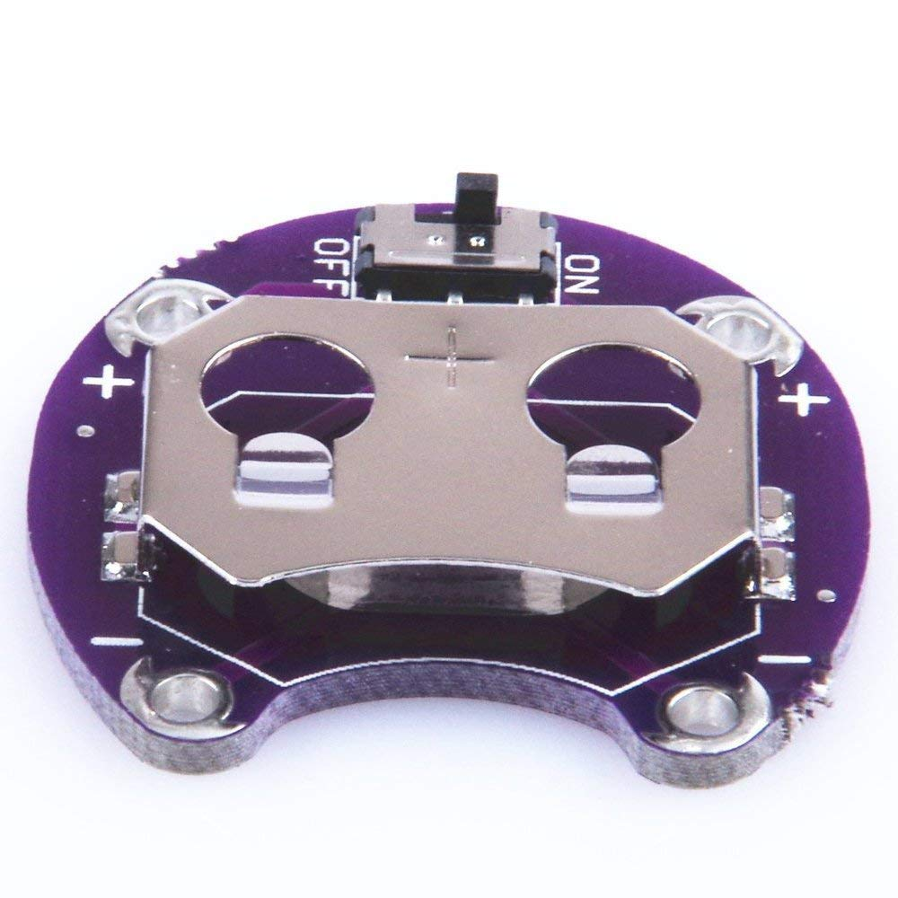 C30 LilyPad Battery Seat Holder Module for Arduino