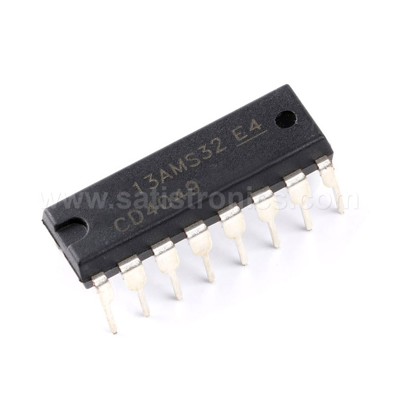 CD4049 IC Hex Buffer/ConvertersDIP-16