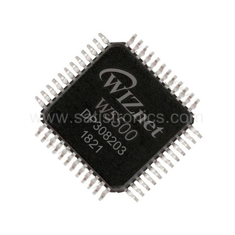 Chip W5500 Microcontroller LQFP48