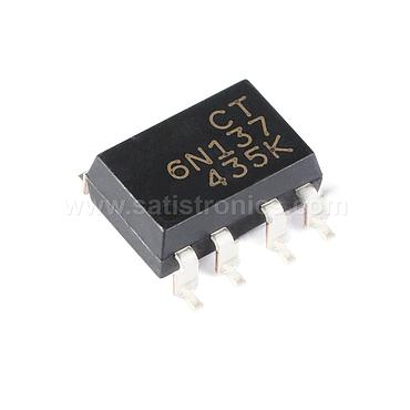 CT Micro CT6N137(S)(T1) SMD-8 Optocouplers Compatible 6N137S(TA)