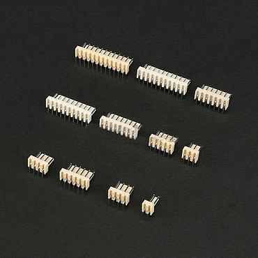 Curved Pins KF2510 2.54MM Terminal Connector 2P 3P 4P 5P 6P 7P 8P 9P 10P 11P 12P Bnt PLUG Connector