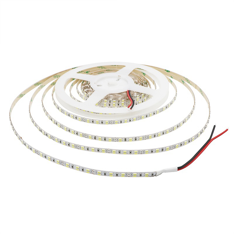 DC 12V 3014 SMD Flexible LED Strip 216LEDs/m Double Row Emitting White/ Warm White