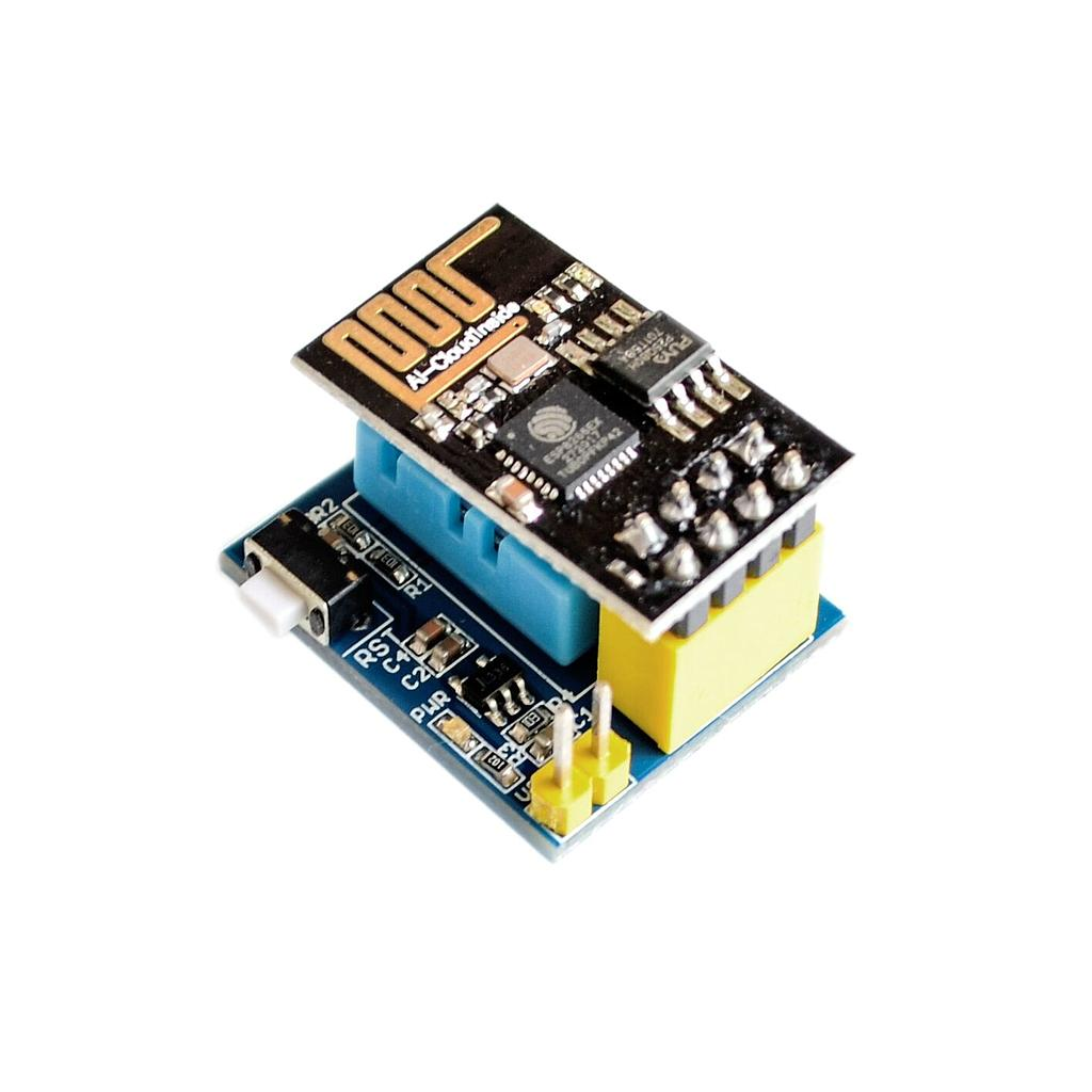 DHT11 ESP8266 Temperature Humidity Sensor with ESP-01 ESP-01S Module Wifi Node MCU Smart Home IOT