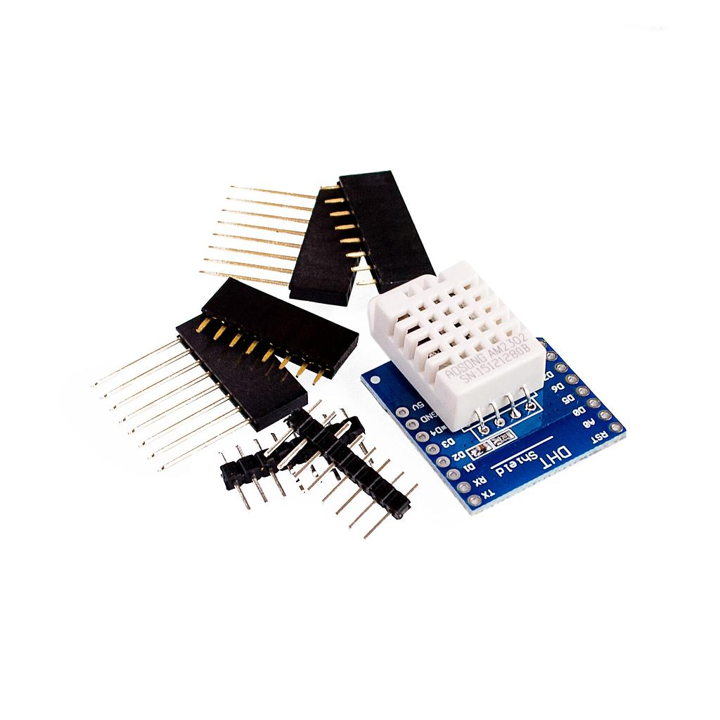 DHT22 Temperature and Humidity Sensor Shield Module for D1 Mini Wemos GM