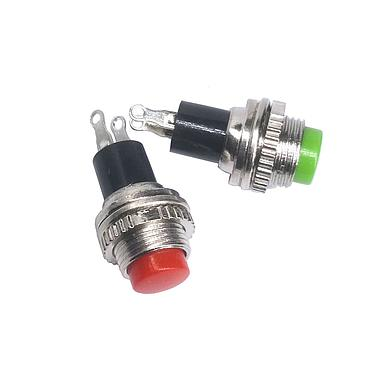 DS-314 Push-Button Switch 10MM Diameter Self-reset 2P