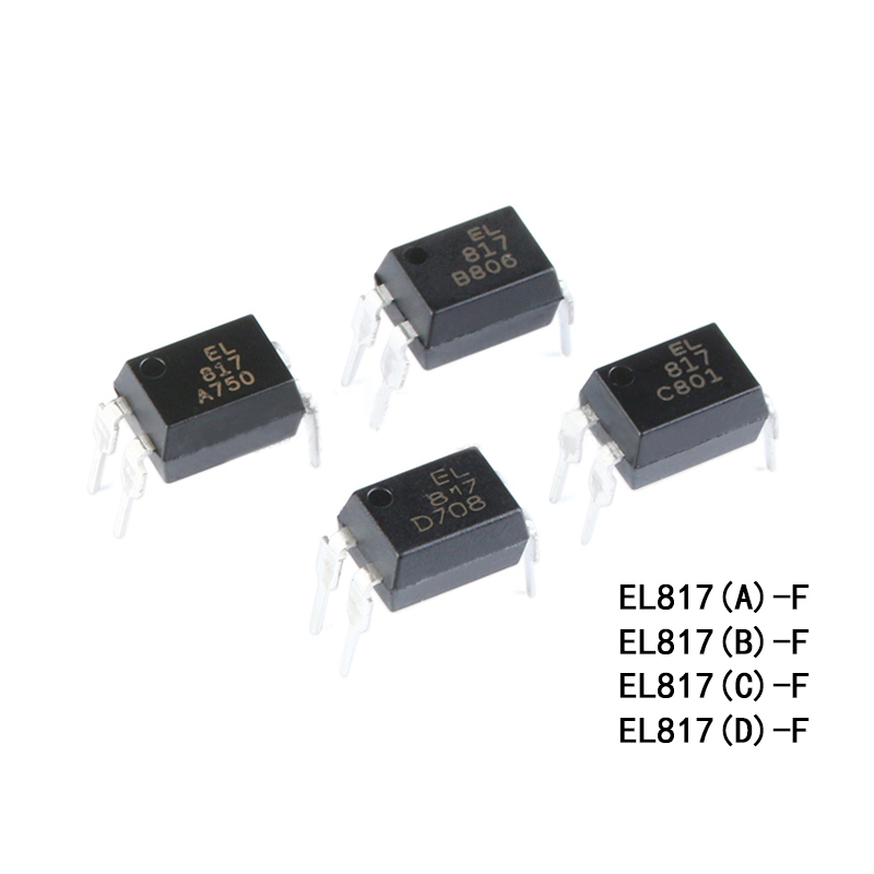 EVERLIGHT EL817 A/B/C/D-F DIP-4 Optocouplers Compatible PC817