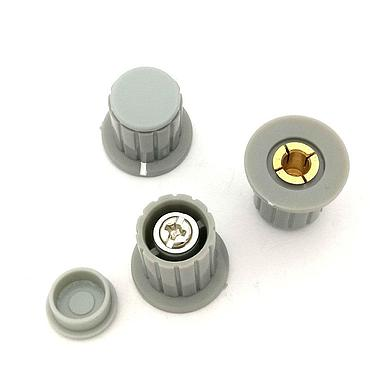 Grey Knob Button Cap Suitable for WXD3-13-2W - Turn Around Special Potentiometer Knob