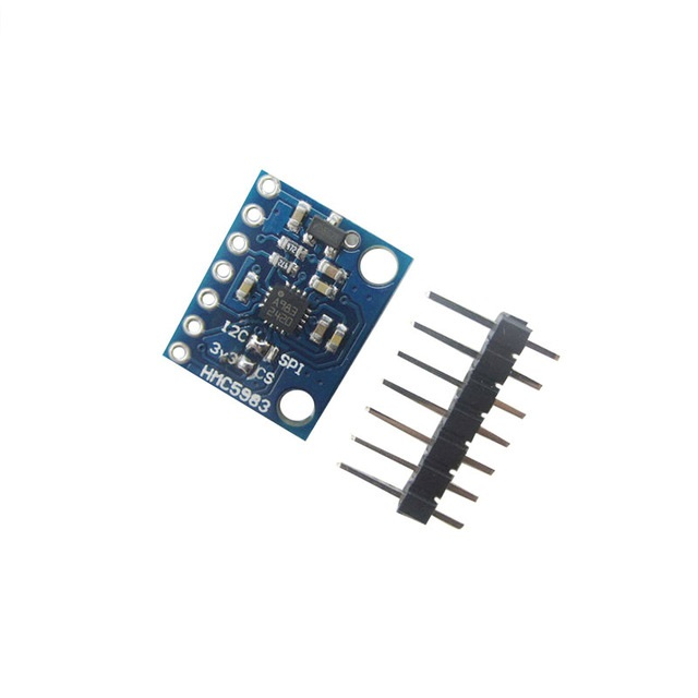 GY-282 HMC5983 Temperature Compensation Triaxial Compass IIC SPI Module Replace HMC5883L