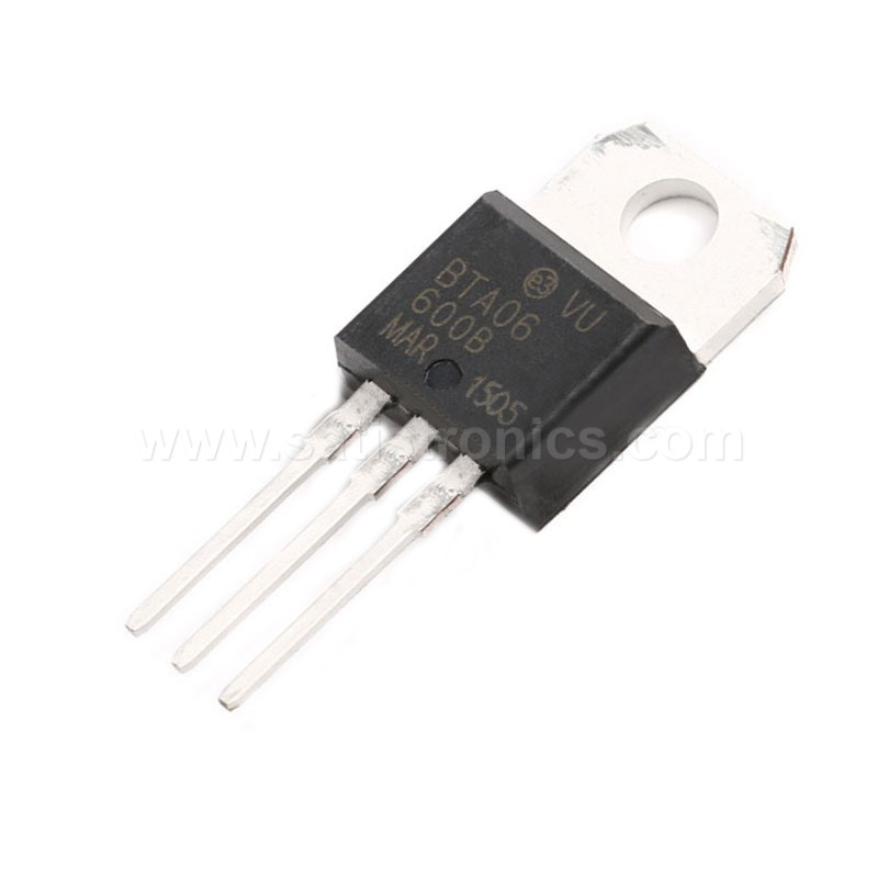 IC BTA06-600B TO-220 Three-terminal SCR Thyristor 6A 600V
