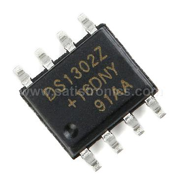 IC DS1302 SOP-8 Real Time Clock for Slow Battery Charging Chip