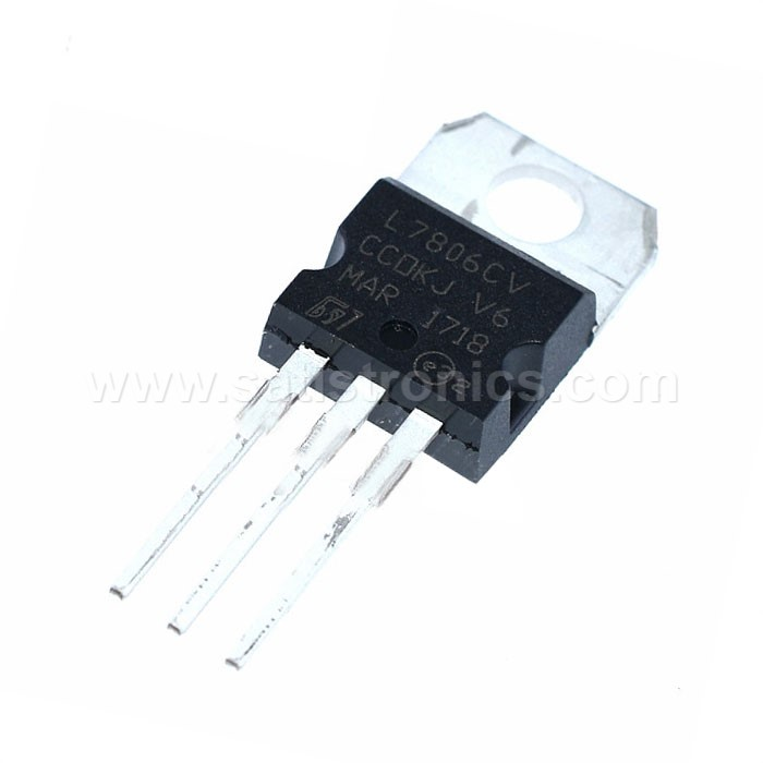 IC L7806 TO-220 Three-terminal Voltage Regulator +6.0V