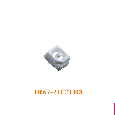 IR67-21C/TR8 3528 Infrared LED and Silicon Detector Photo Transistor SMD