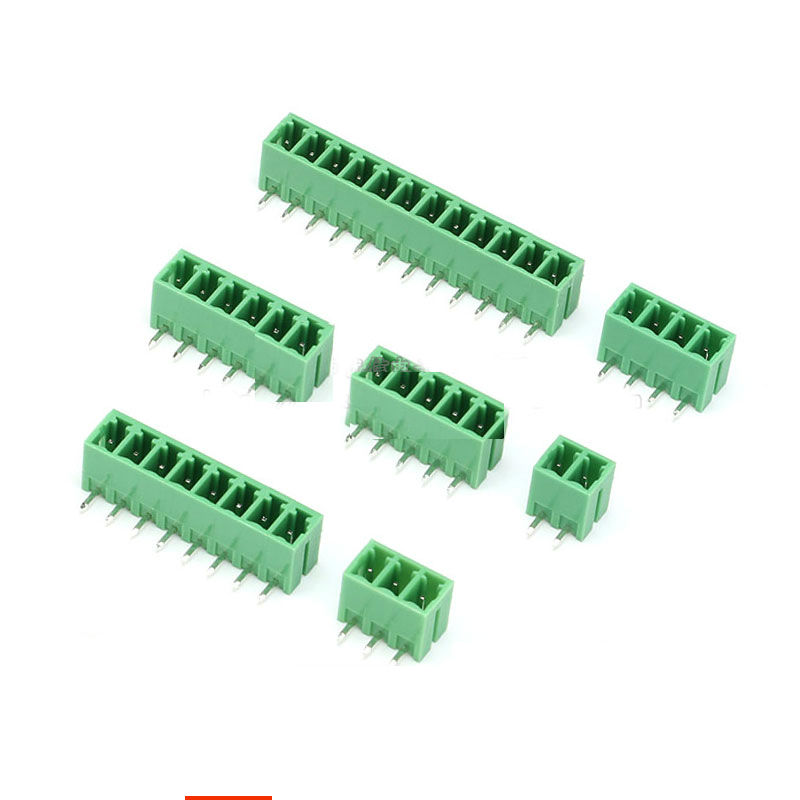 KF2EDGR 3.81mm 300V 8A Pluggable Terminal Blocks Curlved Pitch