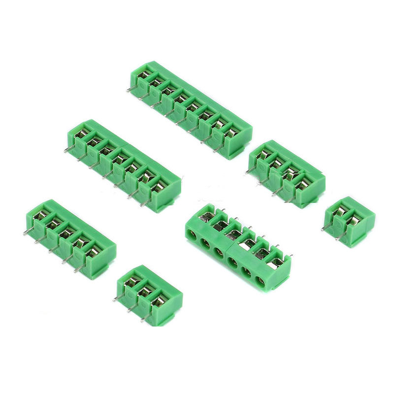 KF396 PCB Terminal Blocks 3.96mm Pitch Screw Terminal Connector 2 Pin 3 Pin