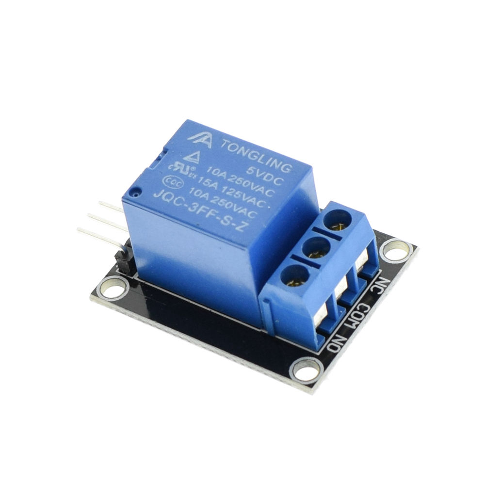 KY-019 5V 1 Channel Relay Module Board for Arduino