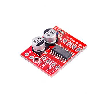 L298N Dual Channel PWM Motor Speed Driver Board