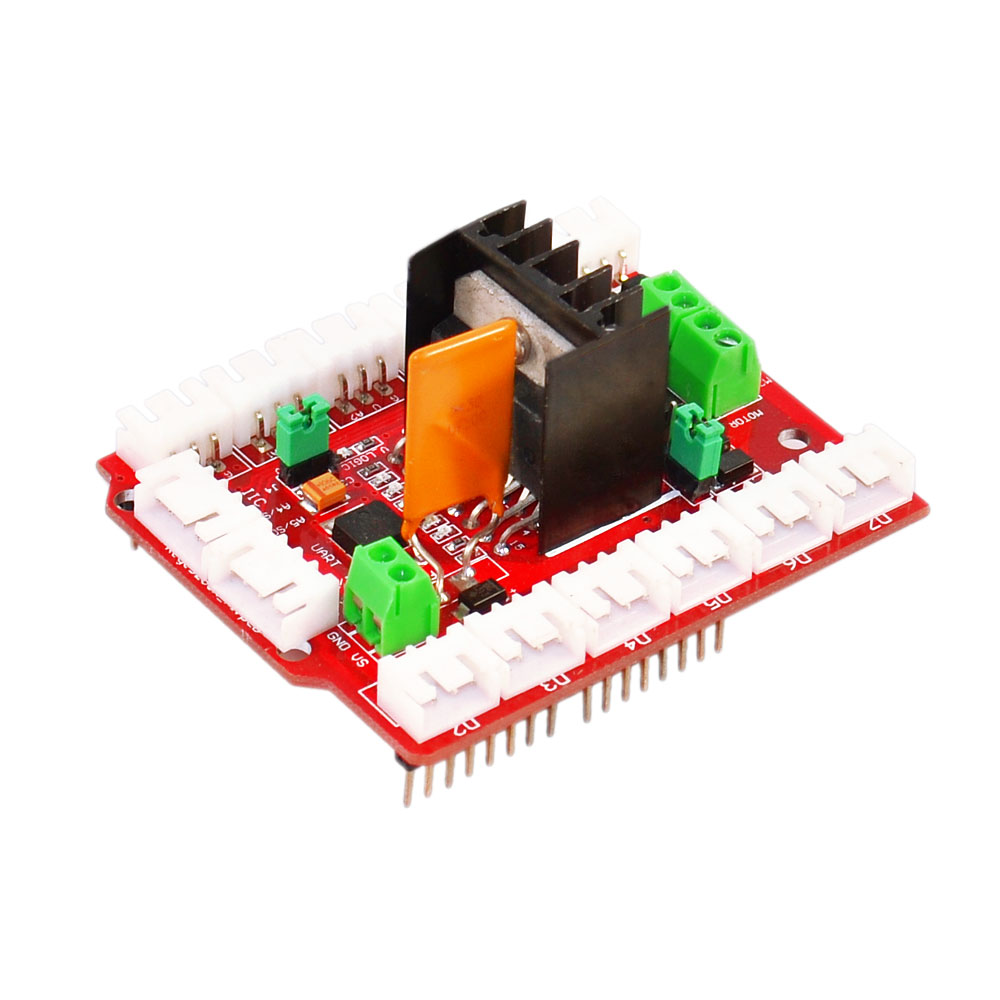 L298N Motor Shield Dual High Current Motor Drives Compatible for Arduino