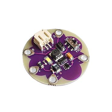 LilyPad LiPower Lithium Battery Boost Power Step up Module 5V Output