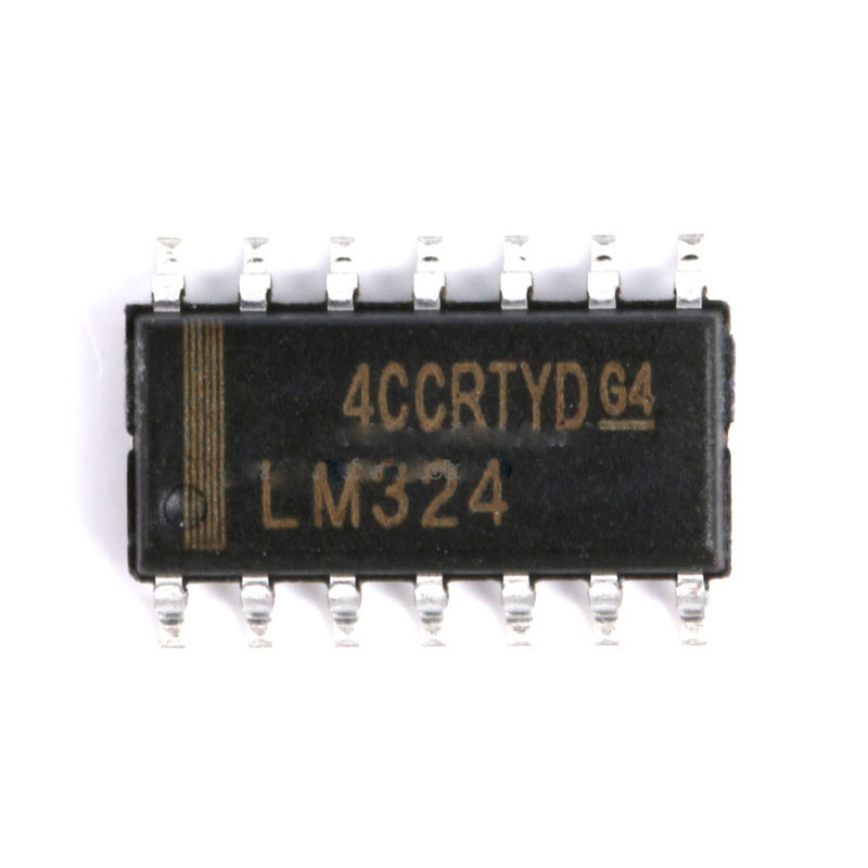 LM324 Chip Low Power Quad Op Amp SOP-14