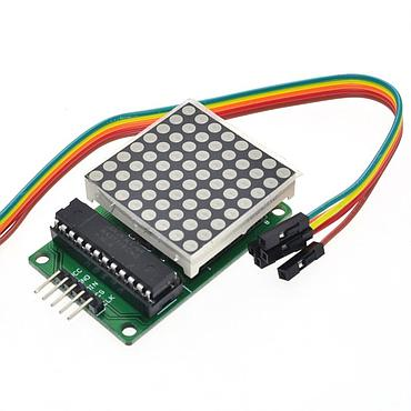 MAX7219 8-Digit LED Display Drivers