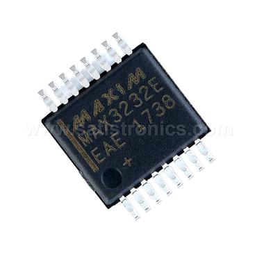 MAXIM MAX3232EEAE+  SSOP-16 ESD-Protected True RS-232 Transceivers