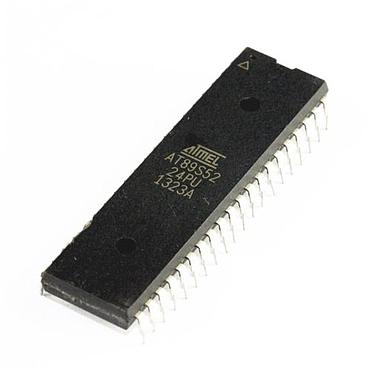 Microchip Chip AT89S52-24PU DIP-40 Microcontroller