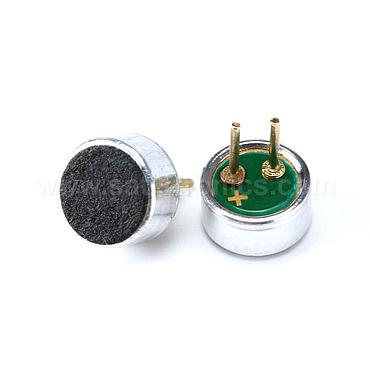 Microphone with Lead Foot Electret Microphone Pickup 4.5*2.2mm 52DB